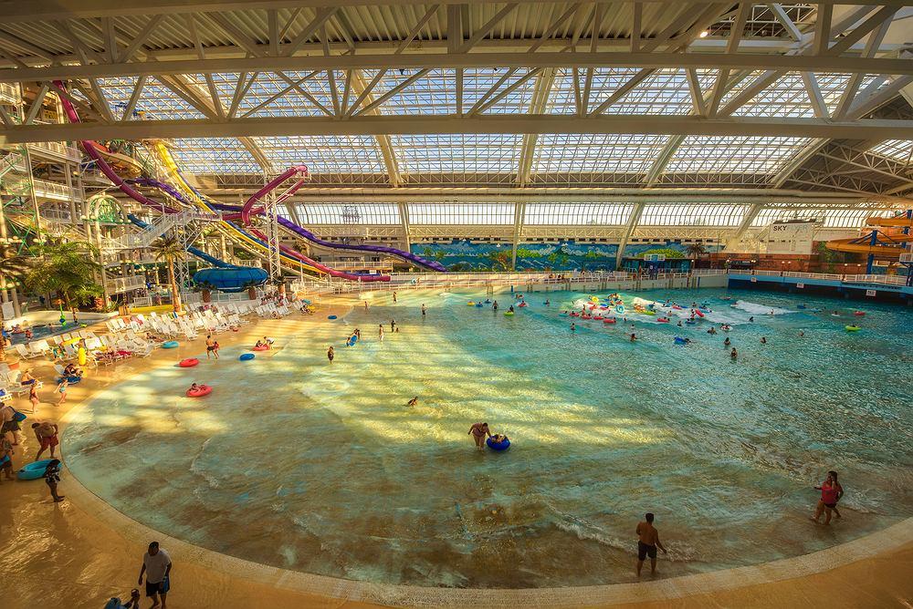 World Waterpark - Edmonton (Kanada). Zdjęcie ilustracyjne