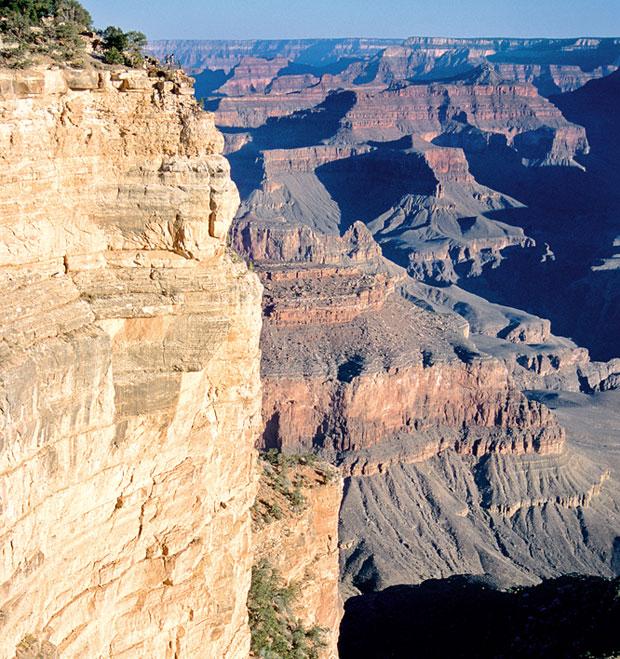 Podróże: samochodem przez Dziki Zachód, samochody, ameryka północna, podróże, Wielki Kanion Kolorado najlepiej wygląda o wschodzie i zachodzie słońca