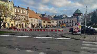 Część placu Wojska Polskiego została wyłączona z użytkowania
