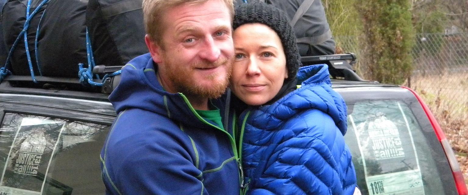 Tomek i Anna Solska-Mackiewicz (fot. archiwum prywatne)