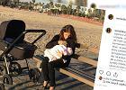 Weronika Rosatinie wstydziła się publicznie karmić piersią. Aktorkę skrytykowano za to pod wpisem