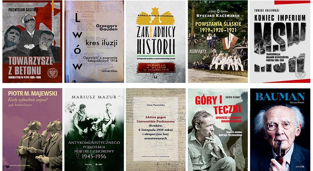 Nagroda Historyczna m.st. Warszawy im. Kazimierza Moczarskiego 2020 - nominowane książki