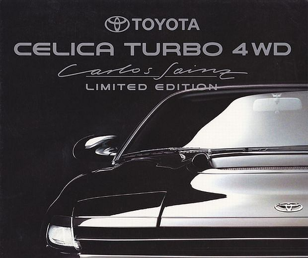 Toyota Celica Carlos Sainz Edition