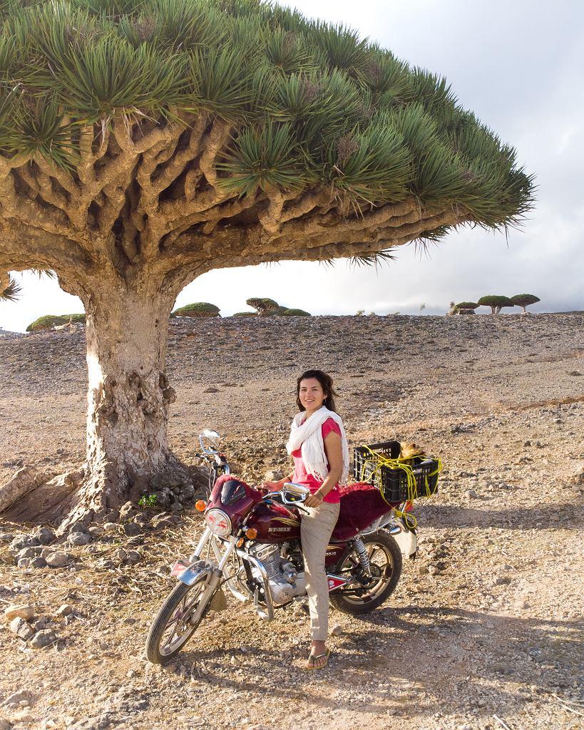 Na jemeńskiej wyspie Sokotra Eva spędziła 80 dni po wybuchu pandemii COVID-19 na świecie