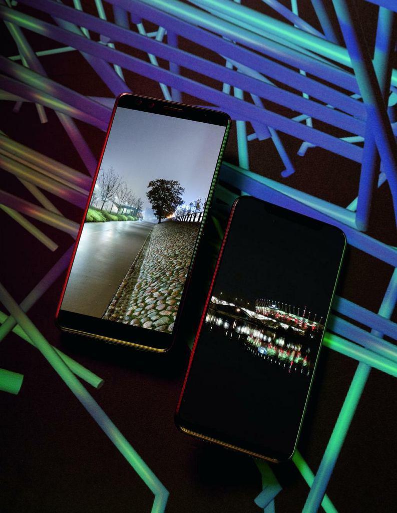 HTC U12+ i Xiaomi Mi 8