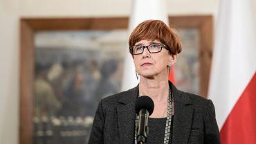 Minister Elżbieta Rafalska