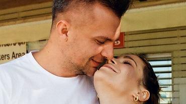 Maja Bohosiewicz z mężem