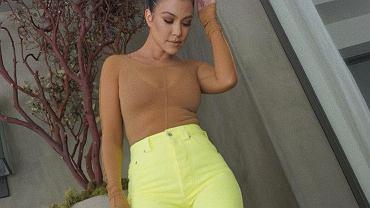 Kourtney Kardashian poleca trening na ramiona
