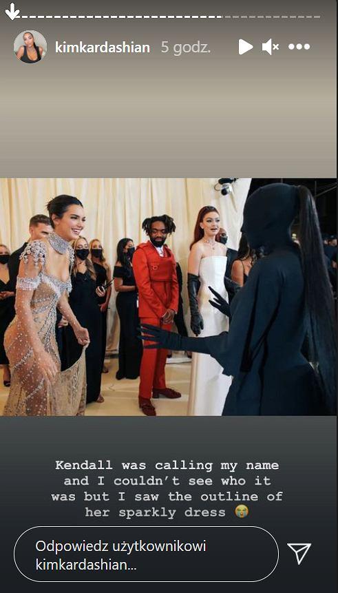 Kim Kardashian nie poznała Kendall Jenner