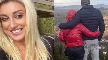 Justyna Żyła z partnerem