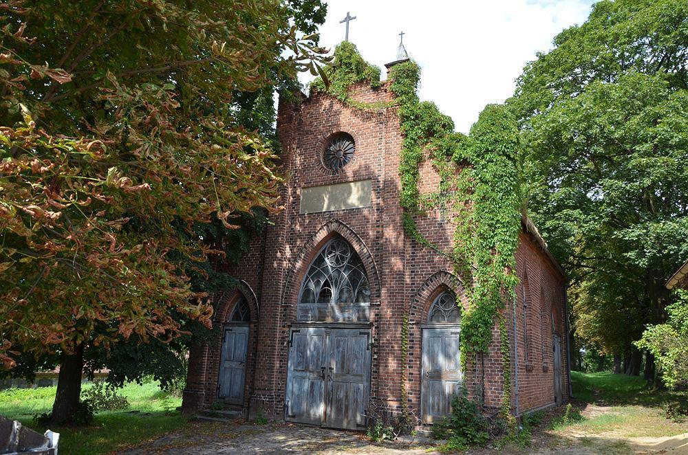 Kaplica na cmentarzu ewangelickim