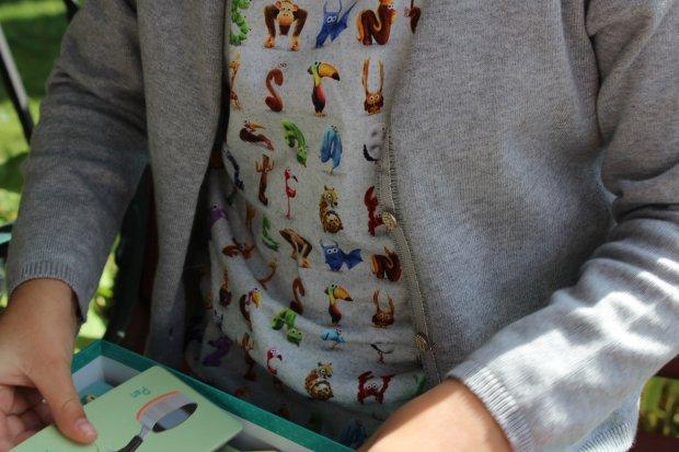 Koszulki z alfabetem / fot. Ania Oka