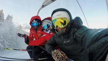 Zimowy wyjazd na narty.