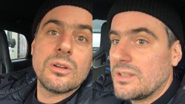 Antoni Pawlicki wziął udział w obywatelskim zatrzymaniu furgonetki pro-birth. Pokazał nagranie na Instagramie
