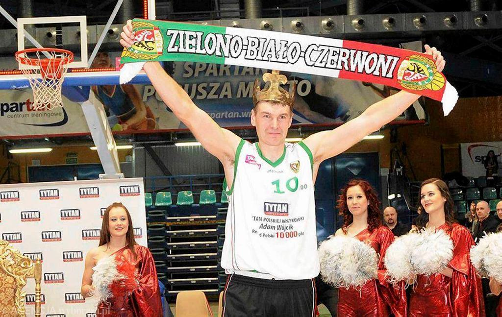 Adam Wójcik, najlepszy w historii strzelec polskiej ekstraklasy koszykarskiej