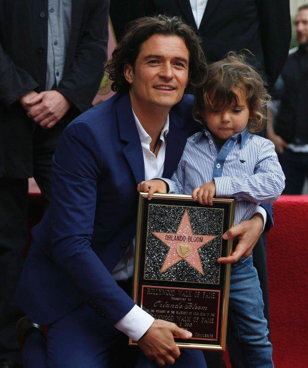 Orlando Bloom, syn Flynn