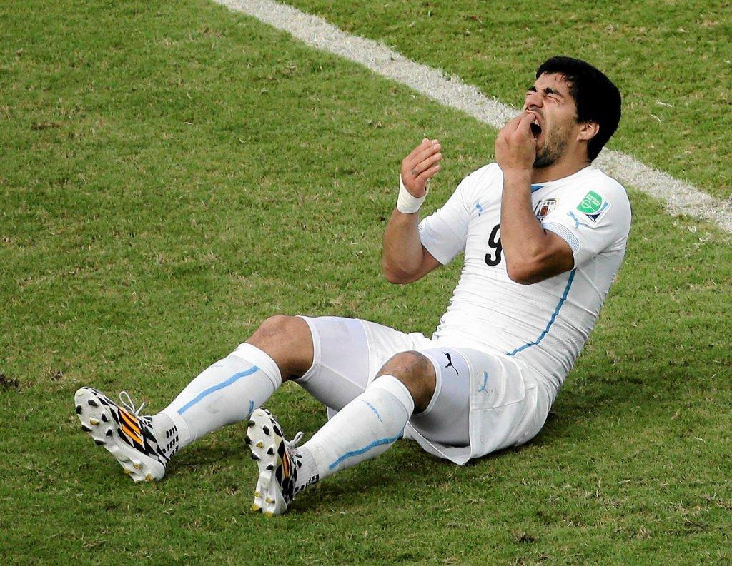 Luisa Suareza bolały zęby po ataku na Giorgio Chielliniego