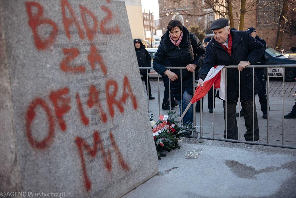 Protest przeciwko ponownemu postawieniu pomnika Henryka Jankowskiego