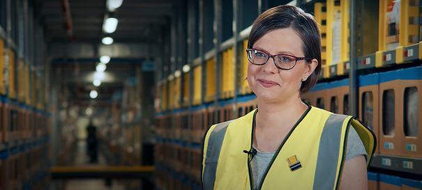 Marta Konieczna, Operations Manager w centrum logistycznym Amazon/Materiał promocyjny Partnera