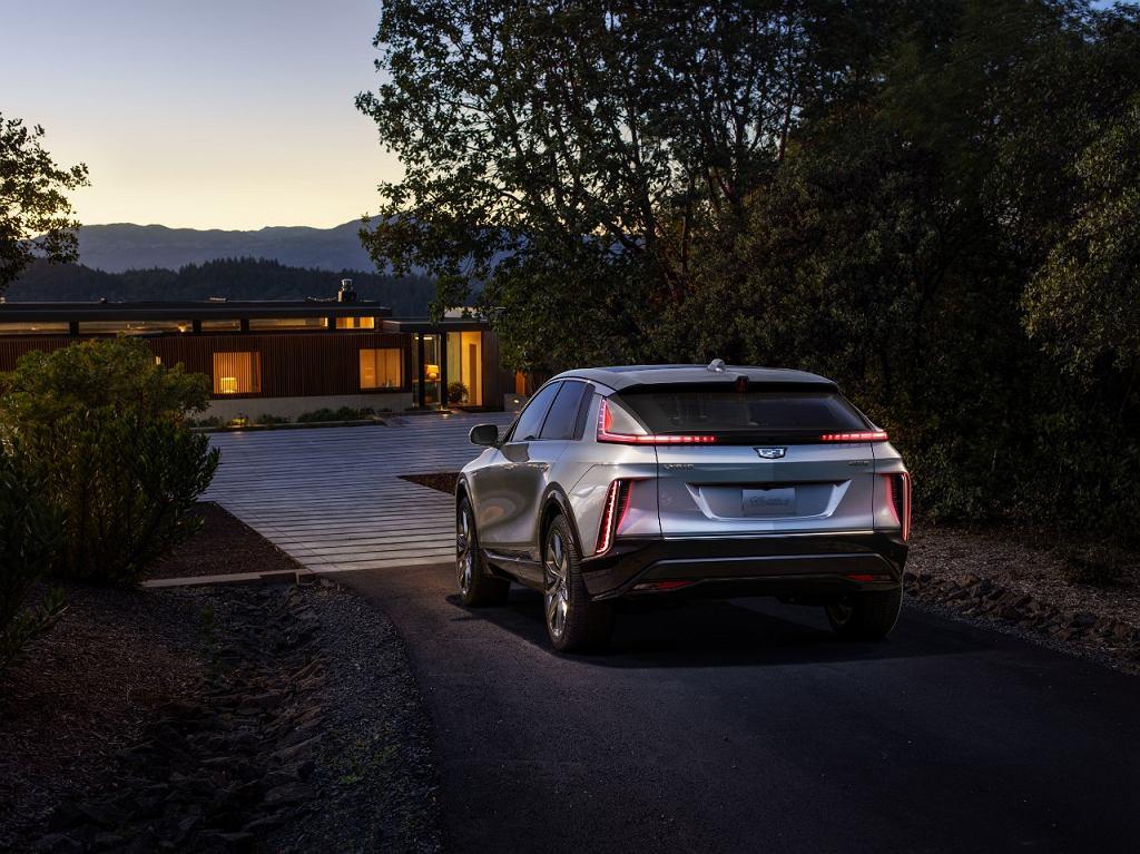 Elektryczny Cadillac Lyriq