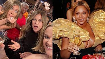 Jennifer Aniston i Reese Witherspoon piły szampana ze stolika Beyonce