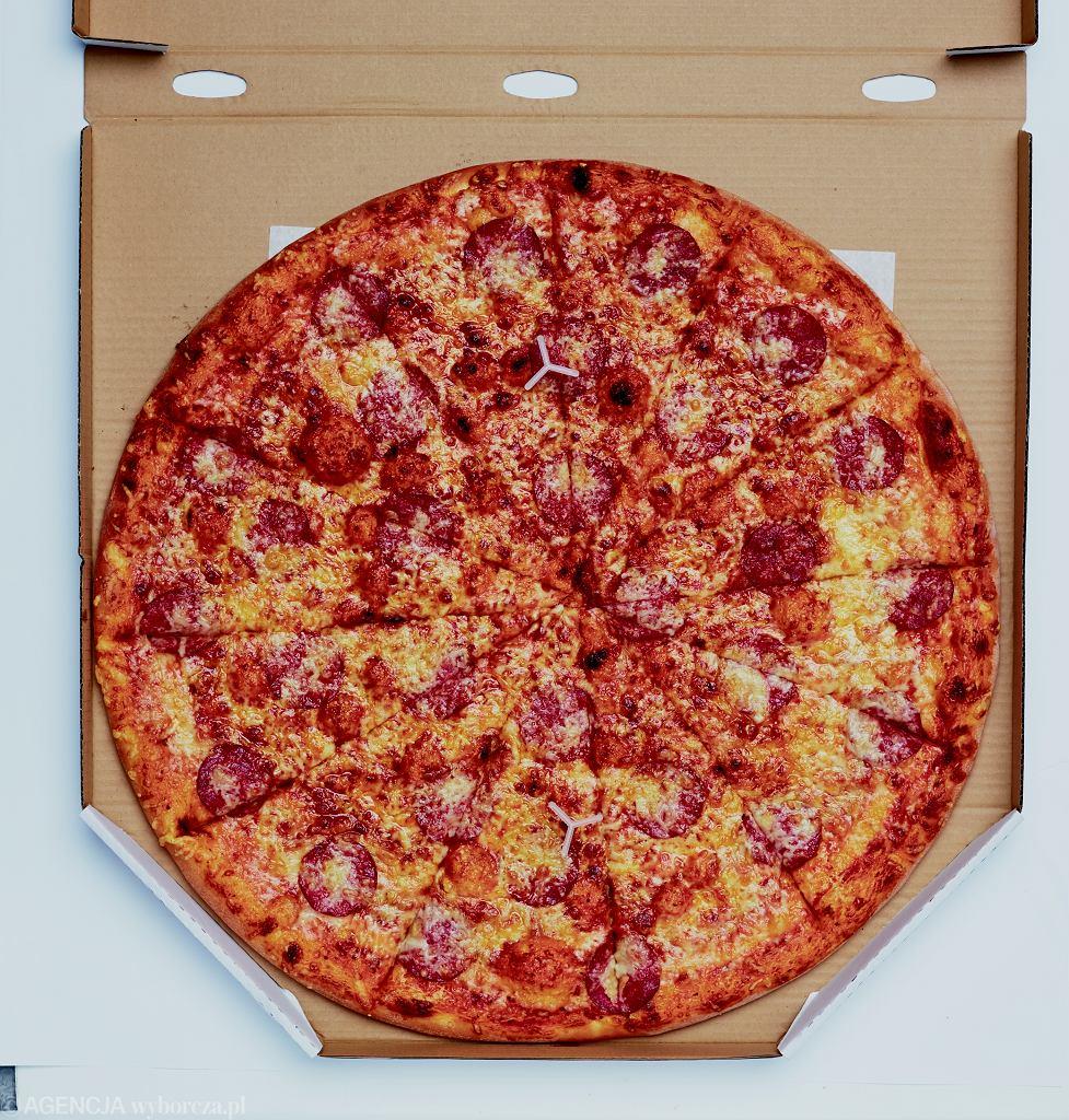 Pizza Pepperoni z Biesiadowa