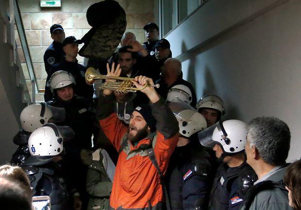 Balkans Protest