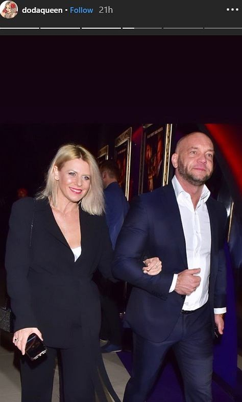 Emil Stępień z Marią Sadowską