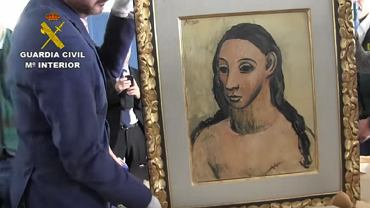 'Głowa młodej kobiety' Picassa