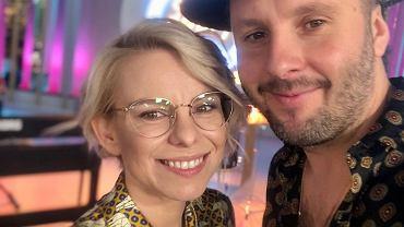 Alicja Janosz z mężem