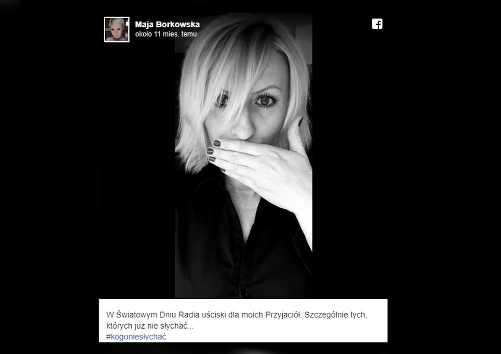 Zmarła Maja Borkowska