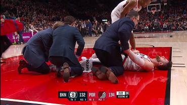 NBA. Fatalna kontuzja Jusufa Nurkica