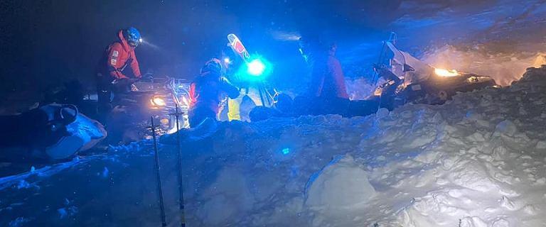 10-osobowa grupa turystów utknęła w Karkonoszach. Interweniował GOPR