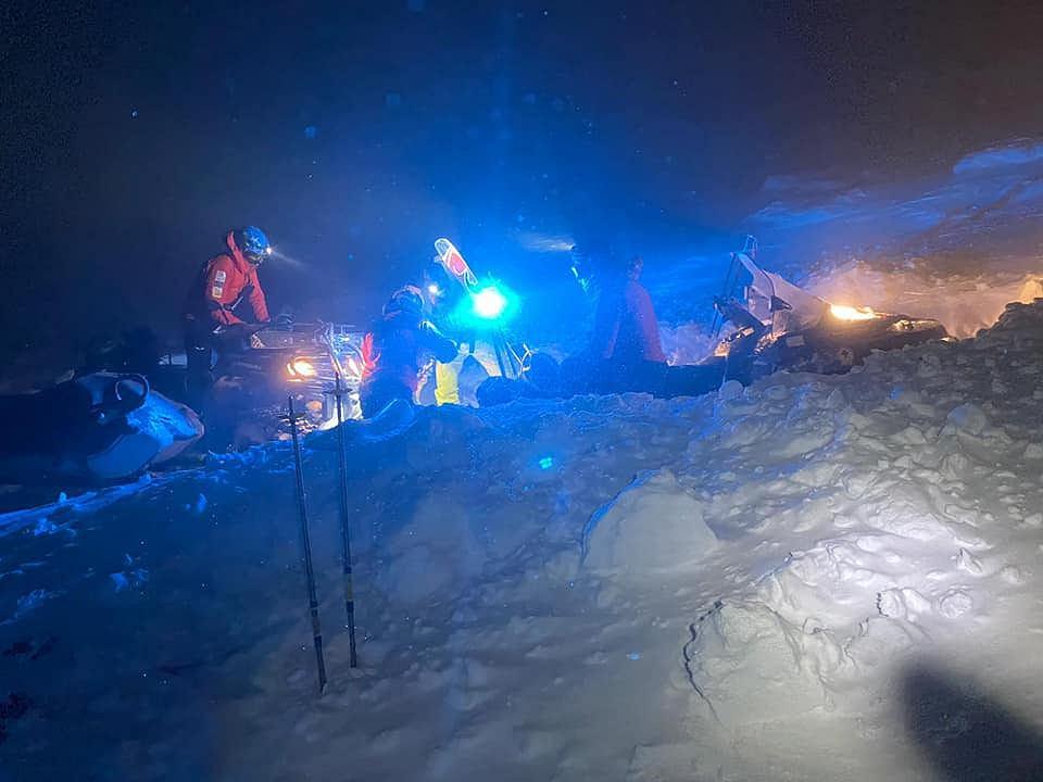 Akcja ratunkowa w Karkonoszach