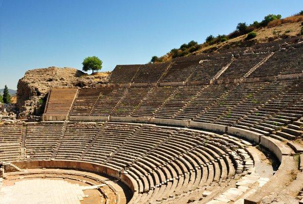 Efez, ruiny Wielkiego Teatru