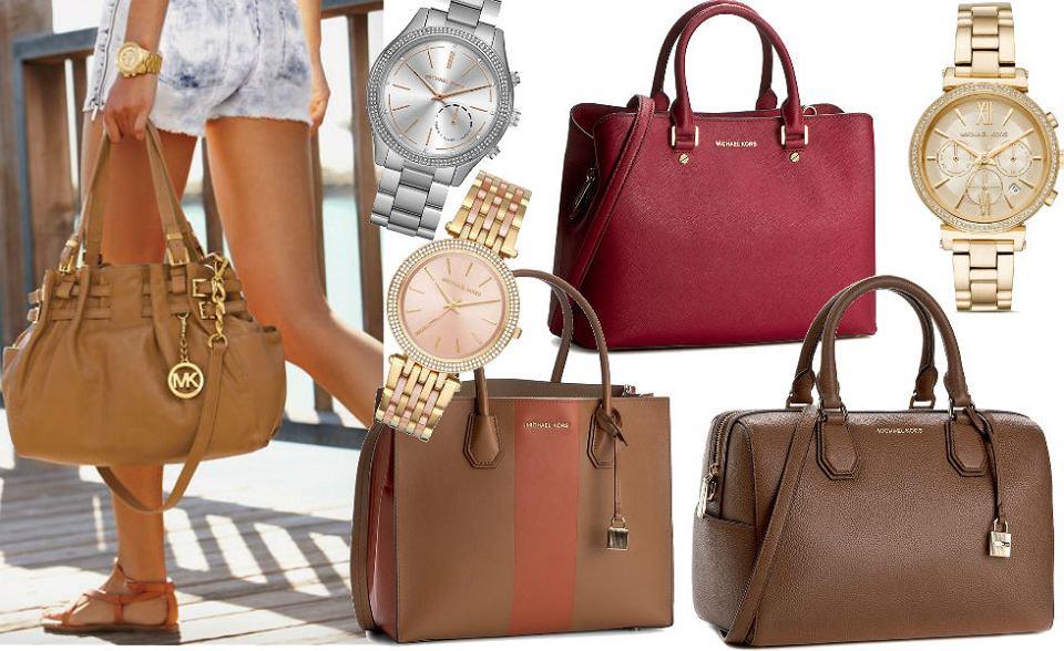 Damskie torebki i zegarki Michaela Korsa