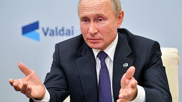 Władimir Putin, prezydent Rosji.