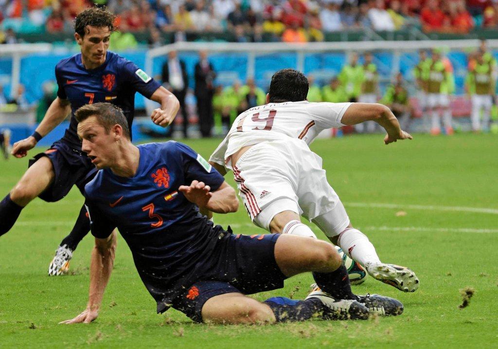 Hiszpania - Holandia 1:5