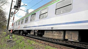Pociąg. Zdjęcie ilustracyjne