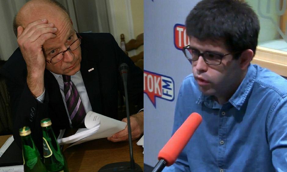 Minister zdrowia Konstanty Radziwiłł i wiceprzewodniczący Porozumienia Rezydentów OZZL Łukasz Jankowski