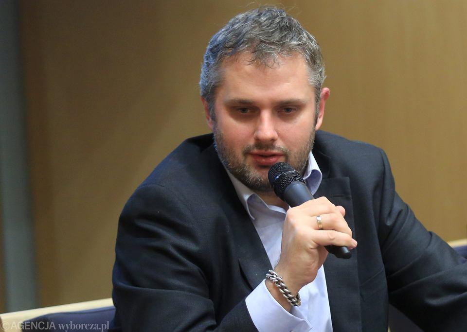 Bartosz T. Wieliński w Agorze