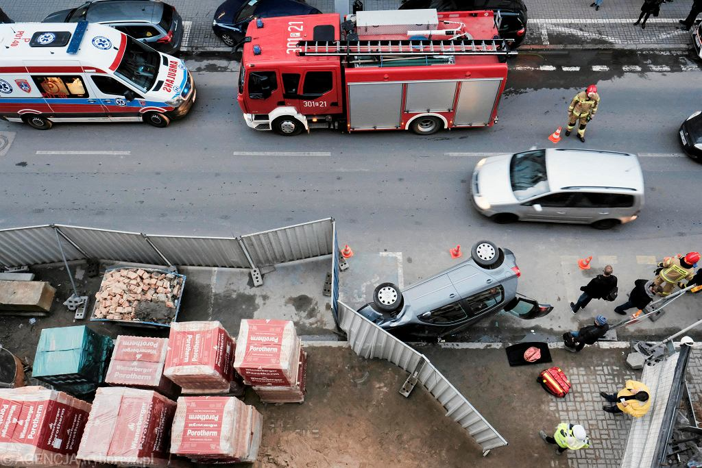 Wypadek na Garbarach. 20.02.2020