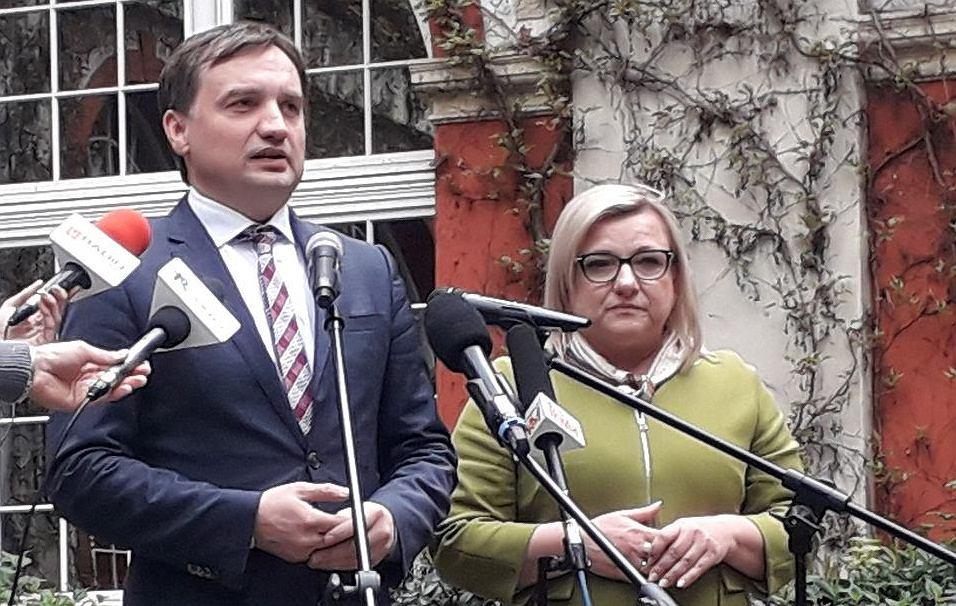 Wybory do europarlamentu 2019. Zbigniew Ziobro i Beata Kempa