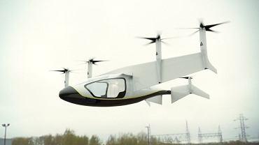 Koncern Rolls-Royce, brytyjski producent lotniczych silników odrzutowych przyłączył się do zawodów, kto zbuduje lepszą latającą taksówkę.