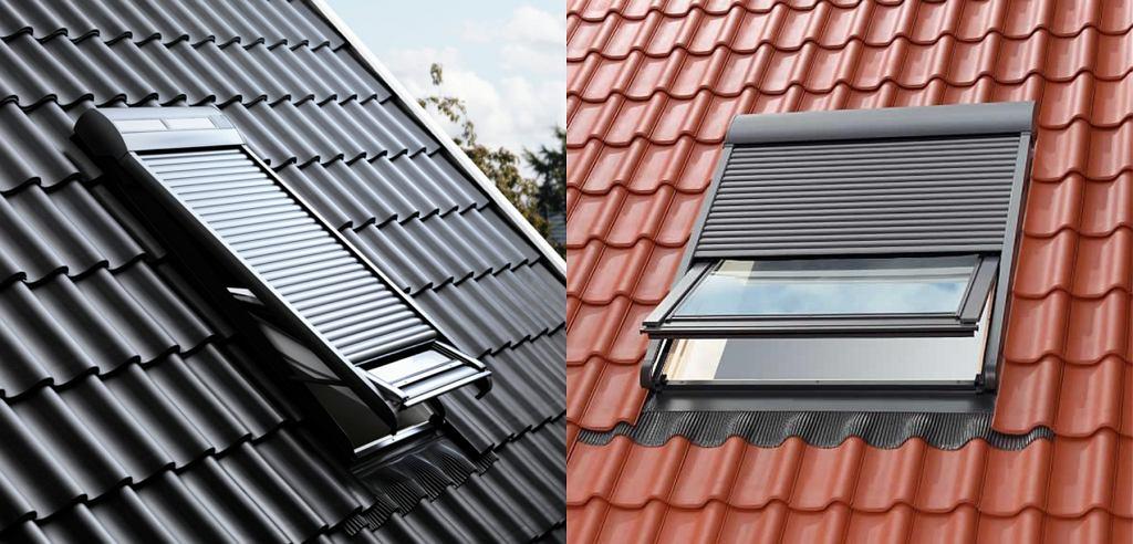 Rolety zewnętrzne na okna dachowe