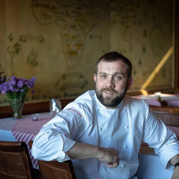 Artur Moroz, właściciel i szef kuchni restauracji Bulaj