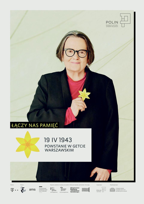 Zdjęcie numer 3 w galerii - Rocznica powstania w getcie warszawskim. Żonkil oznacza pamięć