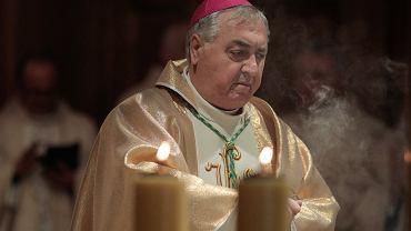 Nuncjusz apostolski arcybiskup Salvatore Pennacchio