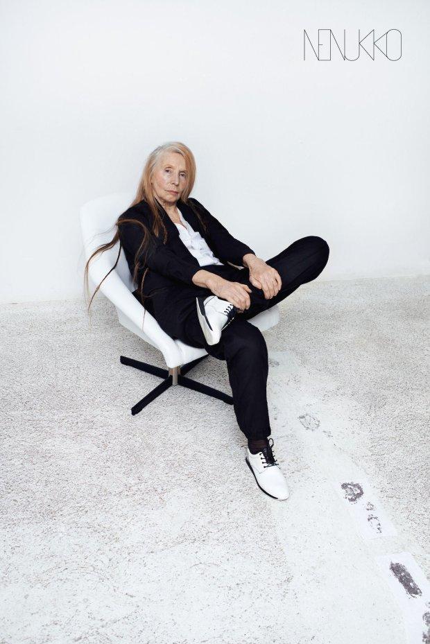 Helena Norowicz w kampanii polskiej marki NENUKKO