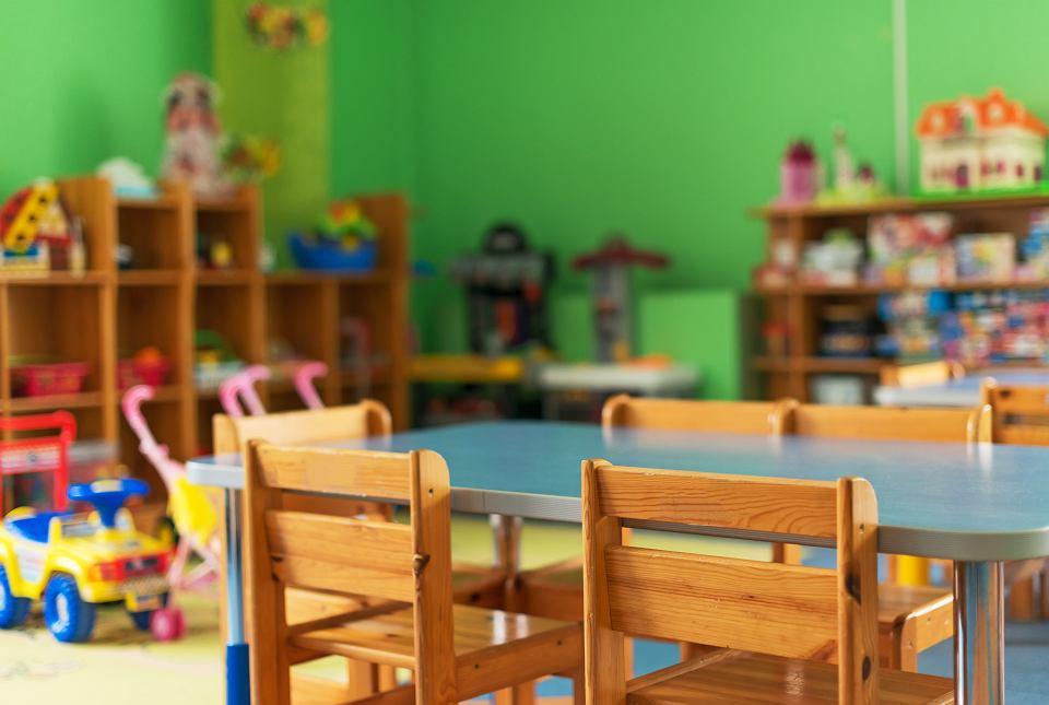Zamknięte przedszkole podczas epidemii koronawirusa